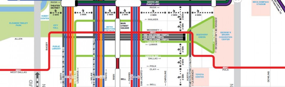 Explainer: METRO's New Bus Network System Map